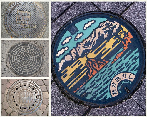 'Manhole Cover Designs: Urban Industrial Artworks under Our Feet'
