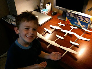 1st Generation Model Paper Airplanes